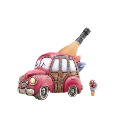 Car shaped wine holder