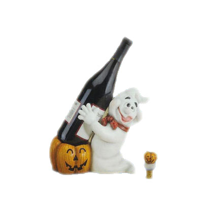 polar bear wine bottle holder