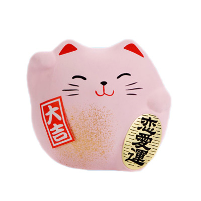 pink lucky cats gifts for lovers