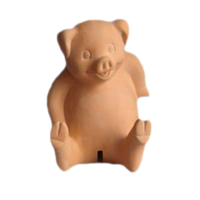 Terracotta Pig Money Box