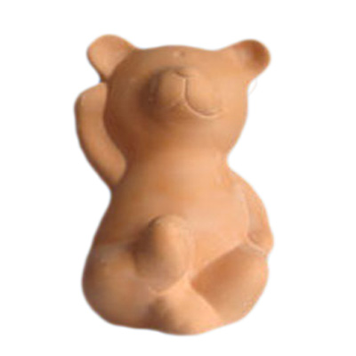 Clay Unpainted Pig Money Bank