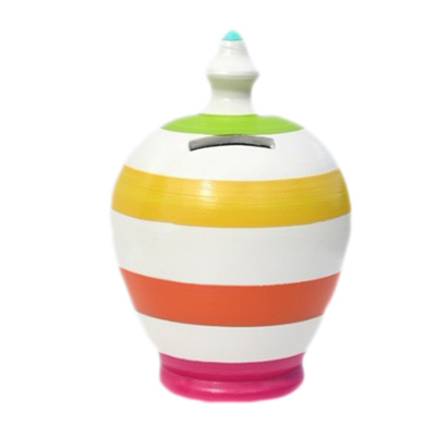 Colorfull Terramundi Money Pot Gifts for Kids
