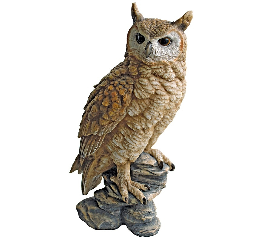 top quality owls statue